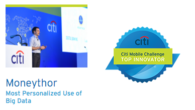 Citi Mobile Challenge Moneythor Award