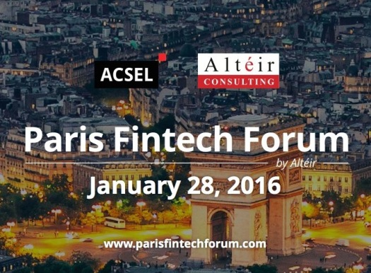 Paris Fintech Forum 2016