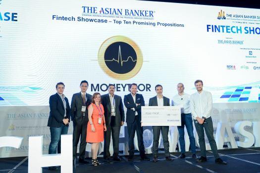 The Asian Banker Summit Fintech Showcase Winner 2016